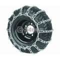 2 Link Tire Chain / 24x13.00-12; 26x12.00-12