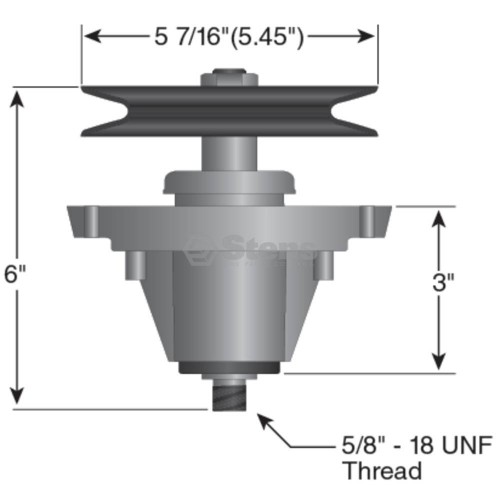 Cub Cadet Spindle Assembly Diagram
