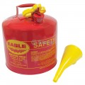 Eagle Metal Safety Fuel Can / Eagle 5 Gallon With Funnel