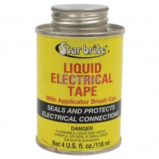 Star brite Liquid Electrical Tape / 4 oz. can, Red color